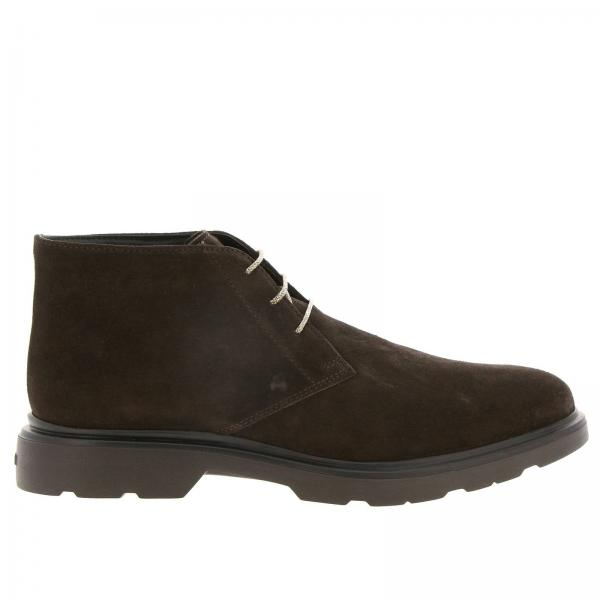 Route 393 suede ankle boot (H304 + memory sole) by Hogan