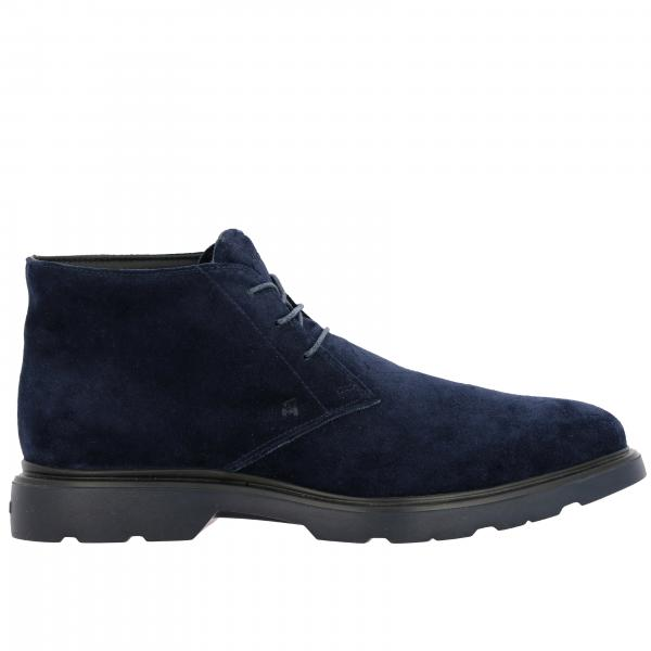 Route 393 suede ankle boots (H304 + memory sole) Hogan