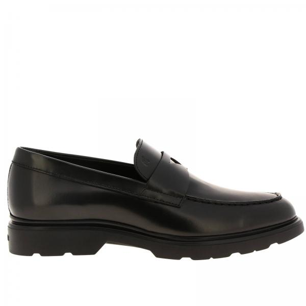 Route 393 loafers (H304 + memory sole) Hogan in brushed leather