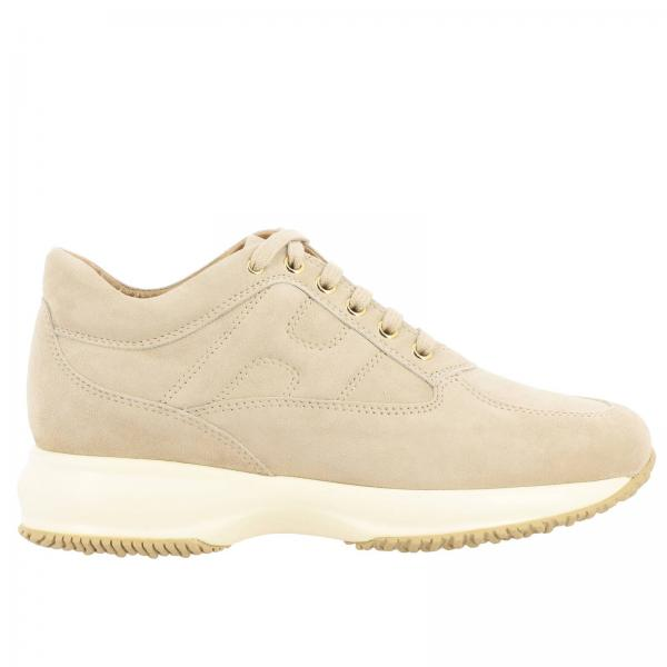 Hogan Interactive sneakers in suede with rounded H