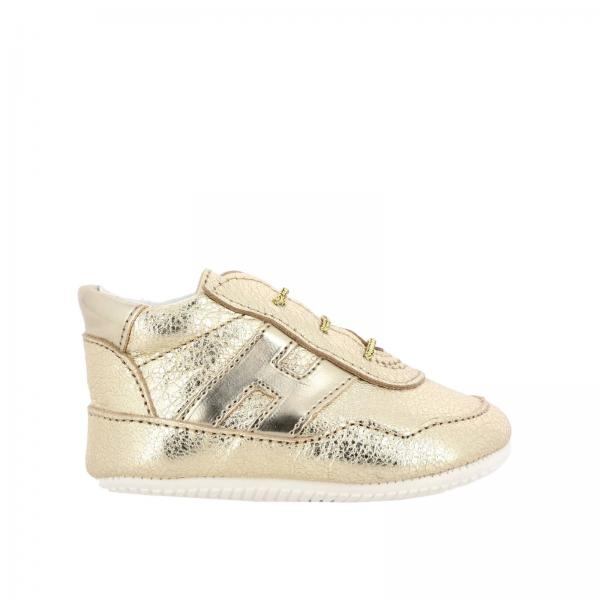 Olympia Hogan sneakers in laminated leather