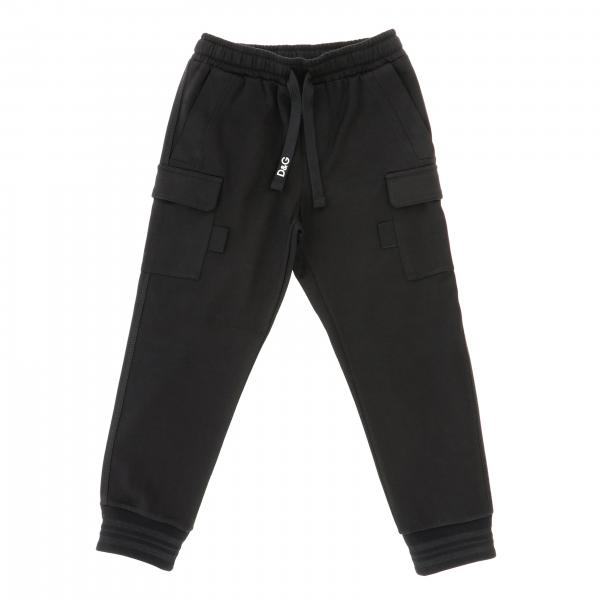 Dolce & Gabbana jogging style trousers with drawstring