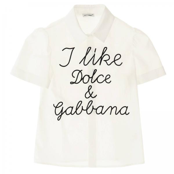 Dolce & Gabbana Back To School Capsule Shirt with short sleeves and print