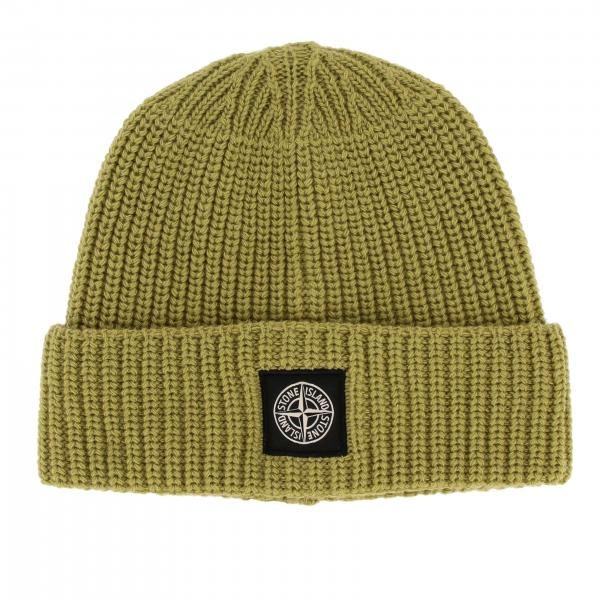 Stone Island 羊毛帽