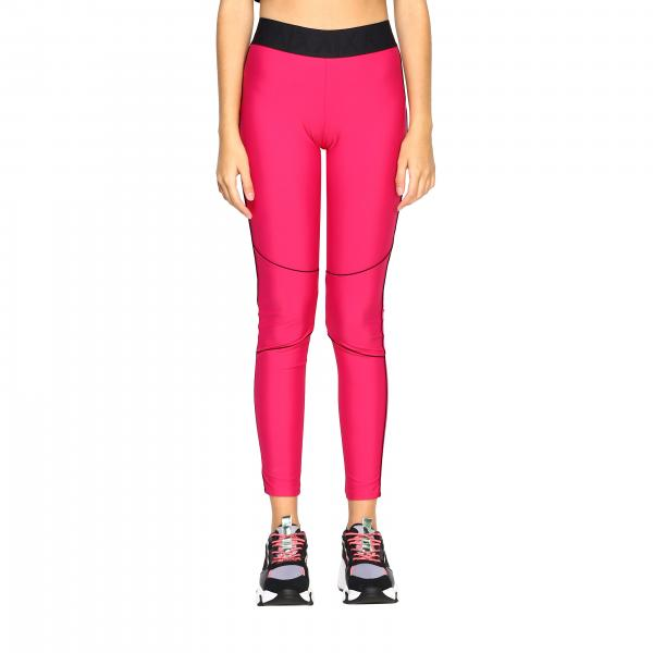 Leggings triacetato banda logo