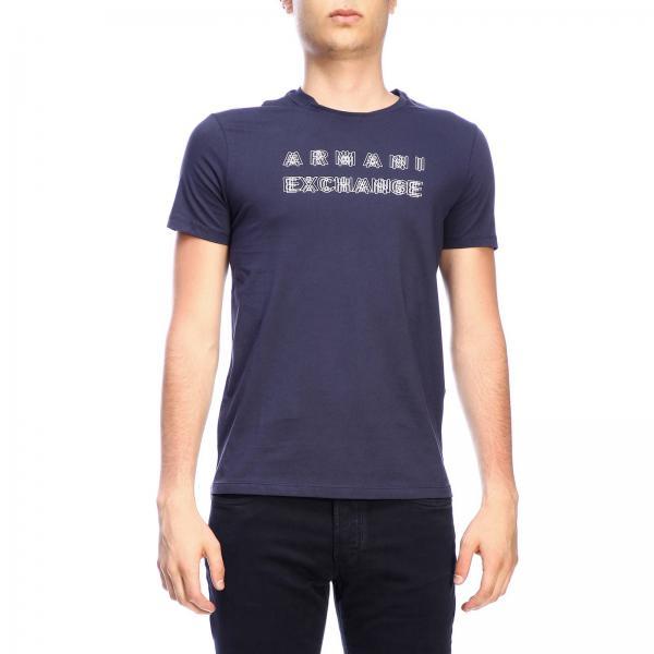 Armani Exchange 印花短袖T恤