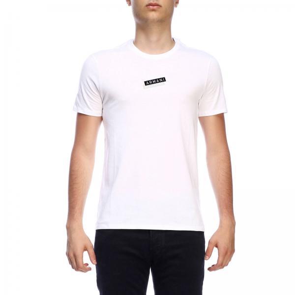 T-shirt à manches courtes Armani Exchange avec logo