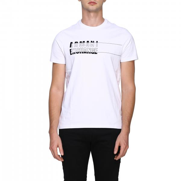 Armani Exchange T-Shirt mit Maxi-Logo