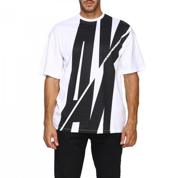 T-shirt à manches courtes Armani Exchange avec grande impression