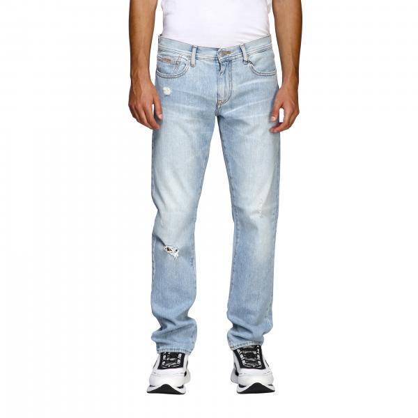 Armani Exchange Slim Jeans in Stretch-Denim