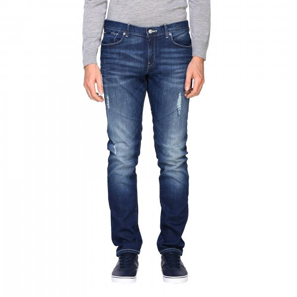 Armani Exchange Slim Jeans in Stretch Denim