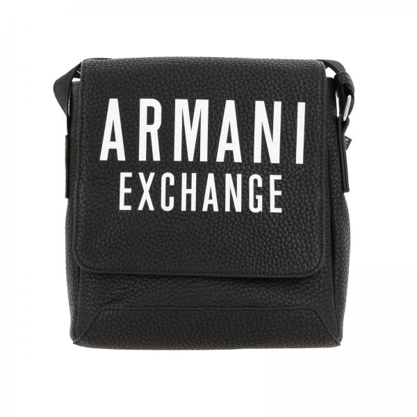 orologio db0e4 d8db6 Borsello armani exchange in pelle sintetica con big logo