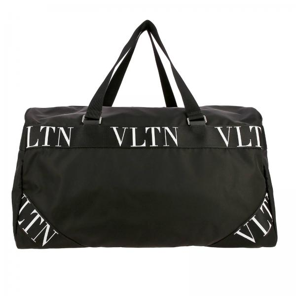 Valentino Garavani nylon bag with VLTN bands