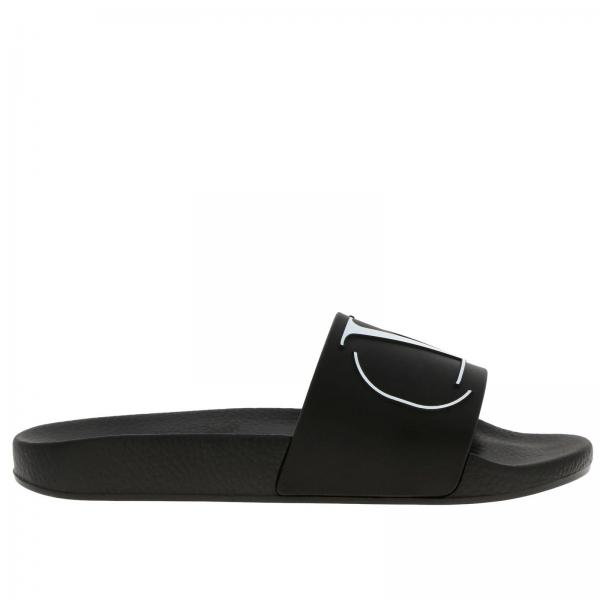 Valentino Garavani sandals with rubber band and maxi VLogo