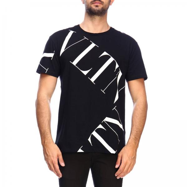 Valentino short-sleeved T-shirt with VLTN print