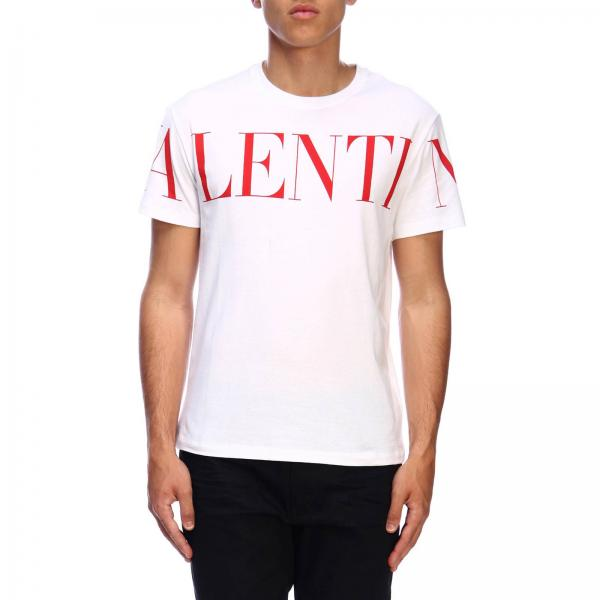 Valentino short-sleeved T-shirt with logo print