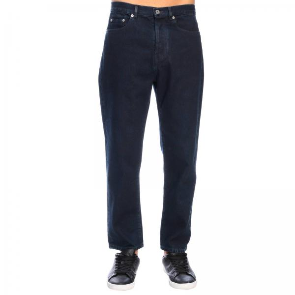 Valentino slim denim jeans with VLogo print