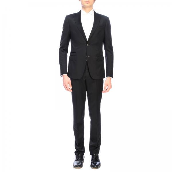 Costume droit Z Zegna Drop 8 à deux boutons en laine mohair 260 gr