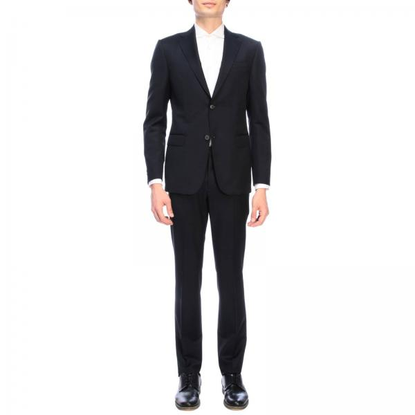 Z Zegna Drop 7 single-breasted two-button mohair wool 260 gr suit with bottom 19