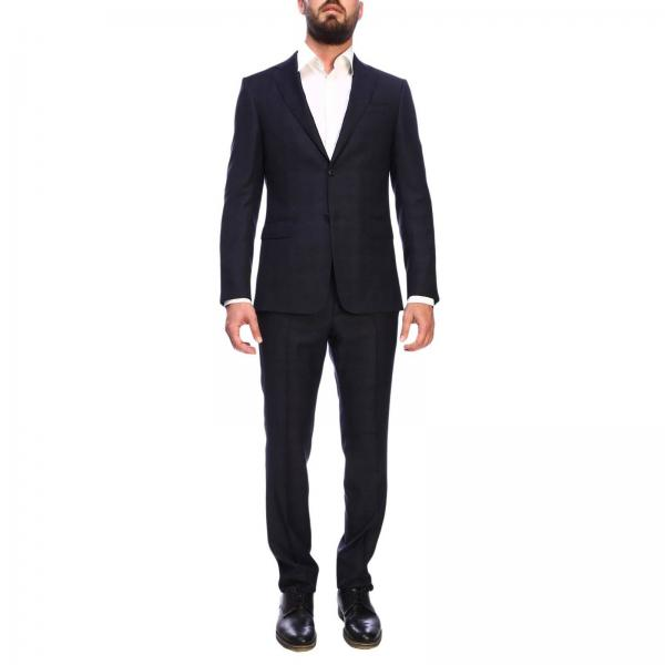 Z Zegna Drop 7 single-breasted two-button wool 260 gr suit with bottom 19