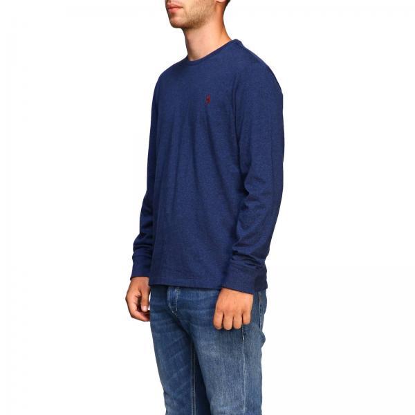 shirt Con Polo DenimMaglia Logo Girocollo Ricamato 710671468 Uomo Lauren T Ralph Basic A XZ0ON8nwkP
