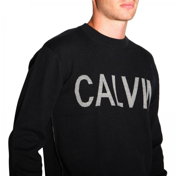 Uomo Maglia J30j313161 Klein JeansCon Logo In Jacquard Calvin 9IEDYWH2