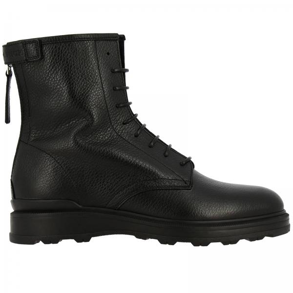Woolrich ankle boots in leather with zip