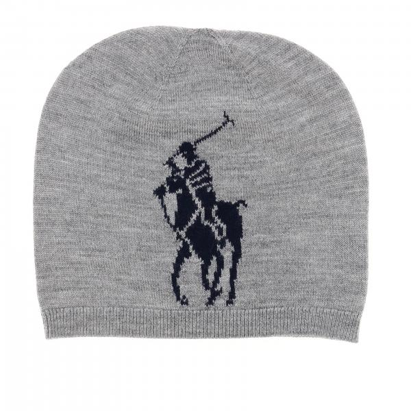 Cappello Polo Ralph Lauren Boy in lana con pony