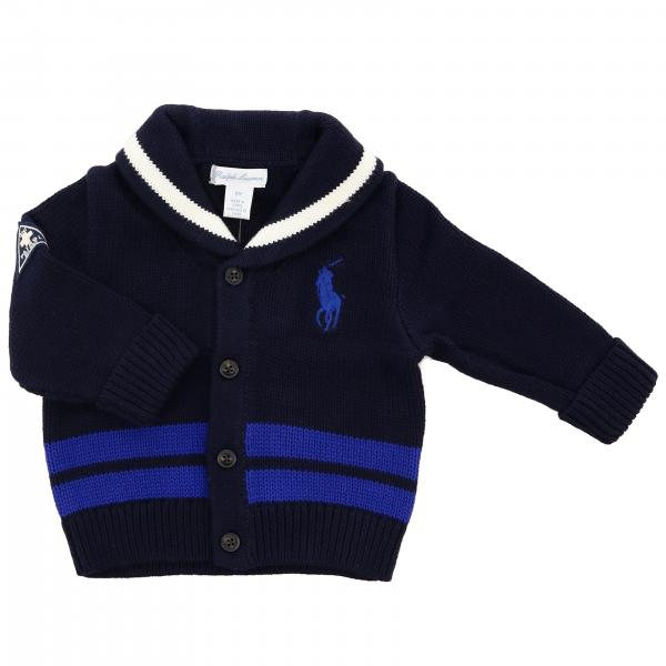 Cardigan collo scialle con big pony