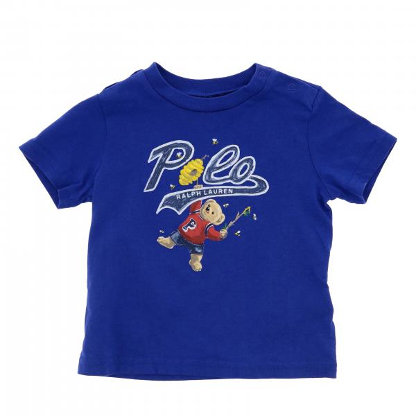 T-shirt Polo Ralph Lauren Infant a maniche corte con orsetto