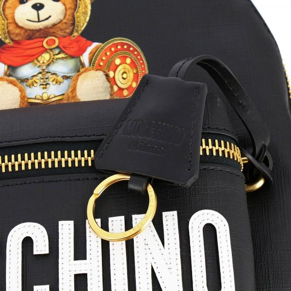 Pelle Sintetica Con Stampa Teddy 7633 8210 Gladiatore Zaino Donna Moschino CoutureIn SUGzMqVp