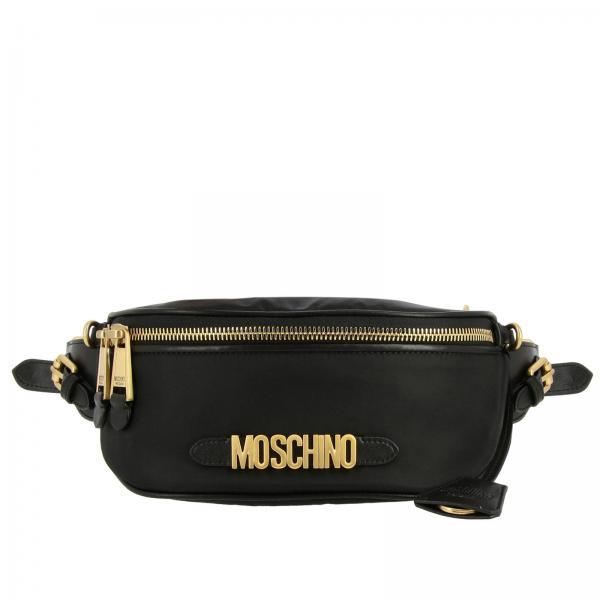 Moschino Couture Bauchtasche aus Nylon mit Maxi-Logo