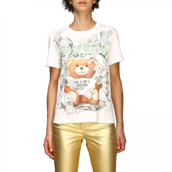 womens-t-shirt-moschino-couture by moschino-couture