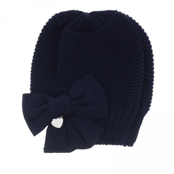 Monnalisa wool hat with bow