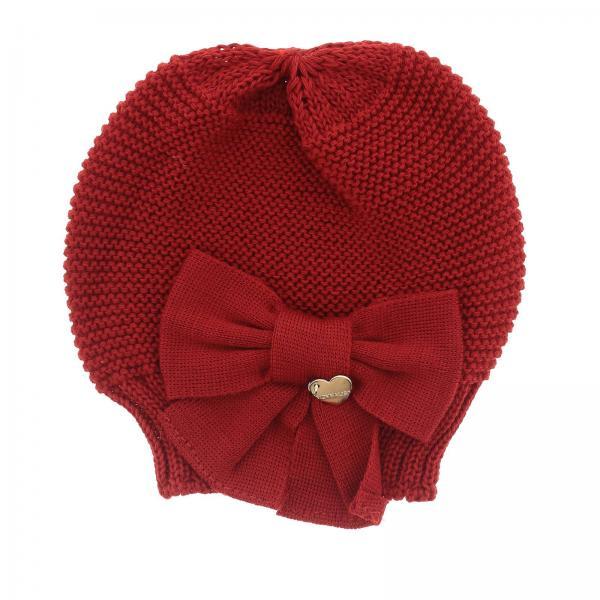 Bonnet en laine Monnalisa avec nœud
