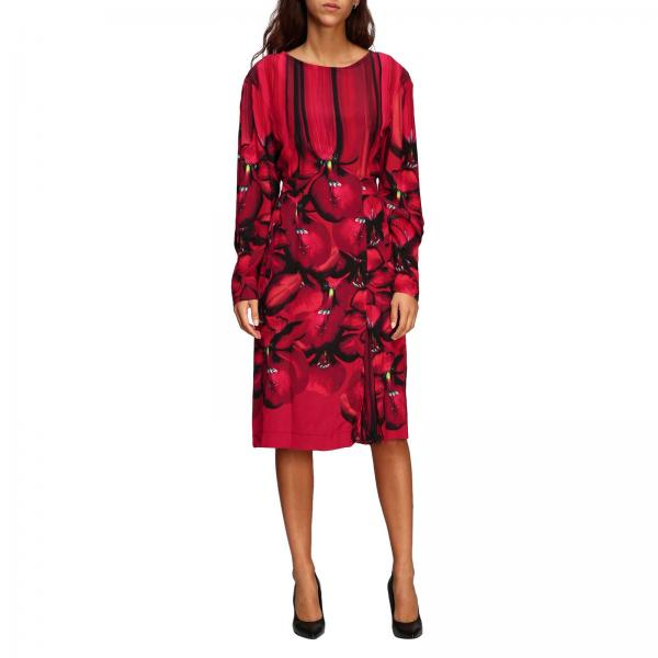 Alberta Ferretti dress with floral pattern