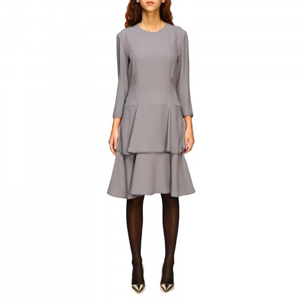 Alberta Ferretti dress with flounced bottom