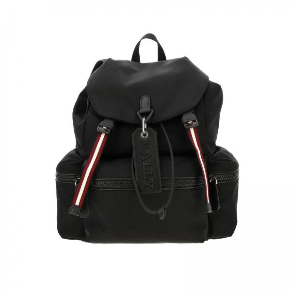 Bally Crew trainspotting尼龙面料中号背包