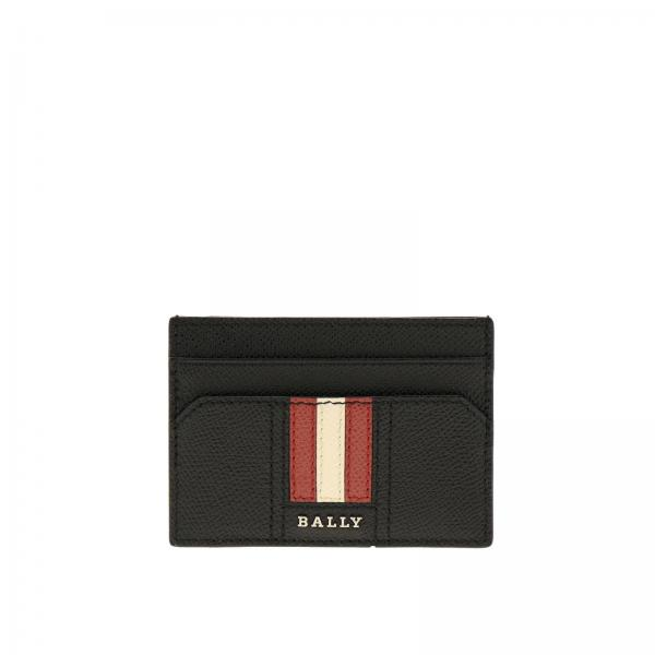 Bally Taclipos.lt trainspotting纹颗粒真皮卡包