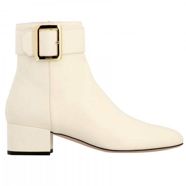 Jay Bally boots in leather with metal buckle