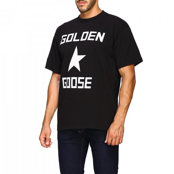 Maniche G35mp525 shirt Stampa Uomo T Golden GooseA Corte Con SUpqGMVz
