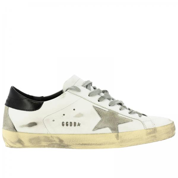Superstar Golden Goose leather sneakers with suede star