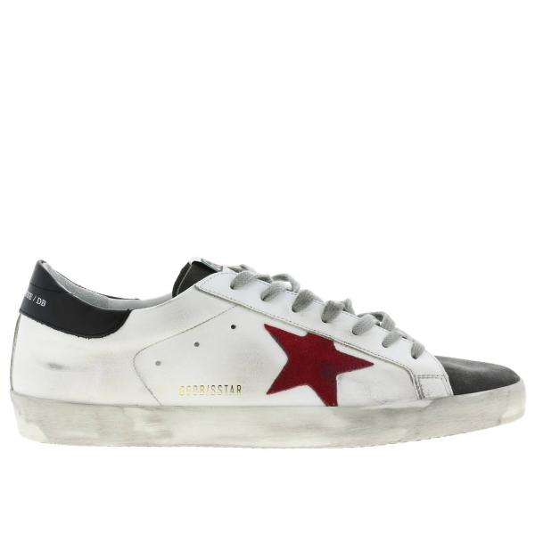 Superstar Golden Goose leather and suede sneakers