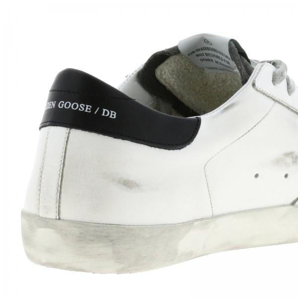 Sneakers Uomo Golden Goose Bianco | Sneakers Superstar Golden Goose In Pelle E Camoscio | Sneakers Golden Goose G35ms590 Q74