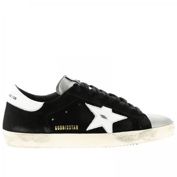 Superstar Golden Goose suede sneakers with leather star