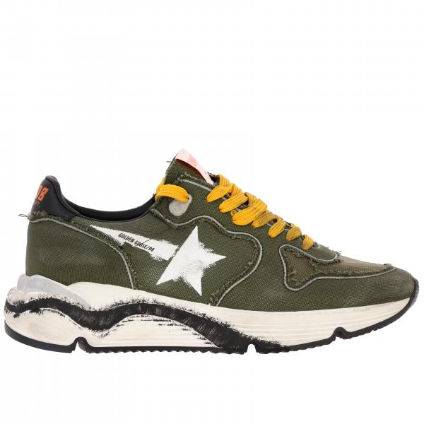 Sneakers Running sole Golden Goose in canvas e rete