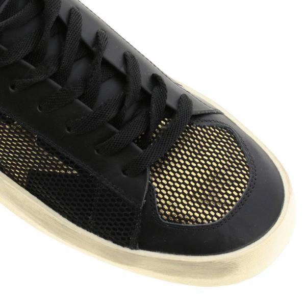 G35ms959 Uomo Con NeroStardan Bicolor In E Rete Pelle C2 Golden Tallone Laminato Goose Sneakers shdCrQt