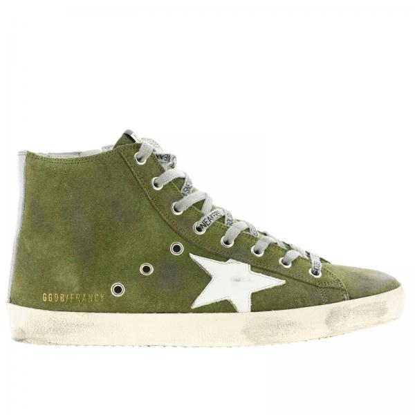 Sneakers Francy Golden Goose in suede with leather star