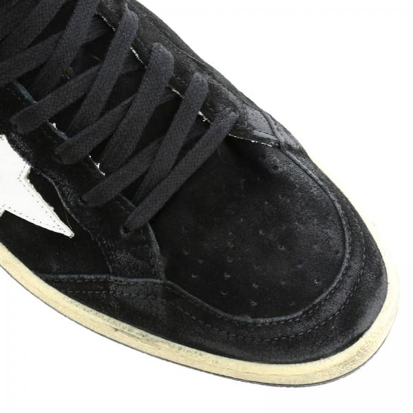 In Camoscio Golden NeroSuperstar Tallone G35ms592 Z4 Sneakers Pelle Con Uomo E Stella Laminato Goose dBrCoexW