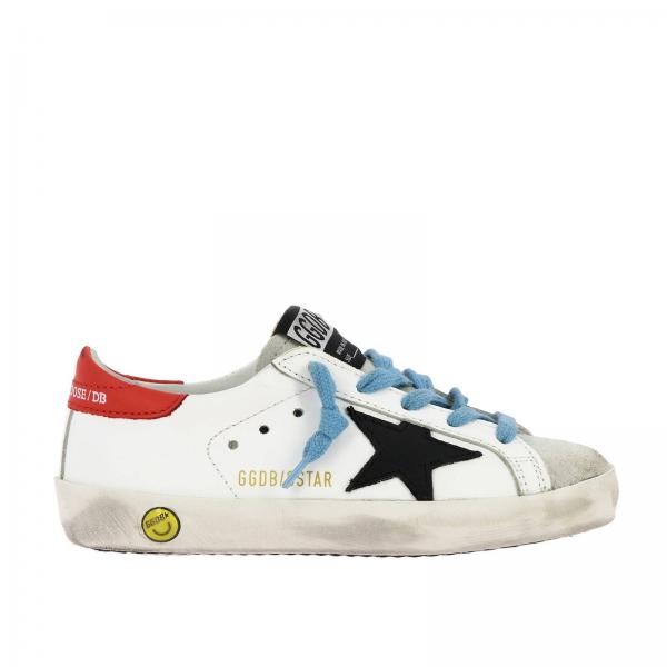 Superstar Golden Goose sneakers in leather and suede with contrasting star